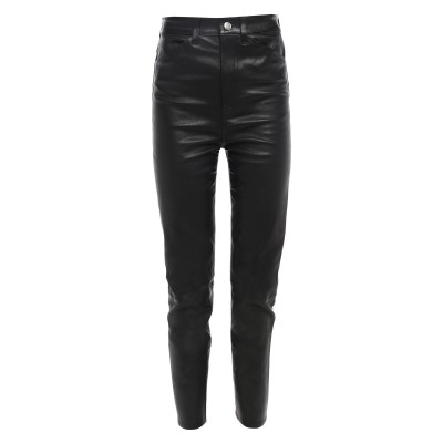 SPRWMN パンツ ブラック M 革 パンツ