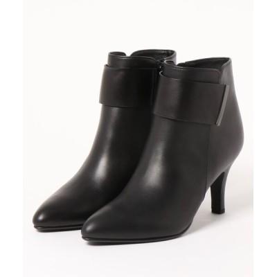 modaClea / ベルテッドショートブーツ WOMEN シューズ > ブーツ