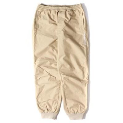 MR.GENTLEMAN ミスタージェントルマン パンツ 19SS karrimor 3レイヤー ナイロントラックパンツ TRACK SET UP PANTS ベージュ L 【メンズ