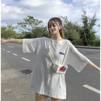 3色Tシャツ  レディース 半袖 バタフライ 夏新作トップス 五分袖 Uネック 薄手 涼しい ファション Tシャツ シンプル