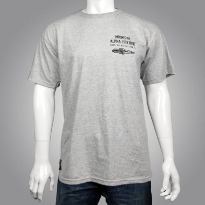AFヘルメット SS Tシャツ グレイヘザー