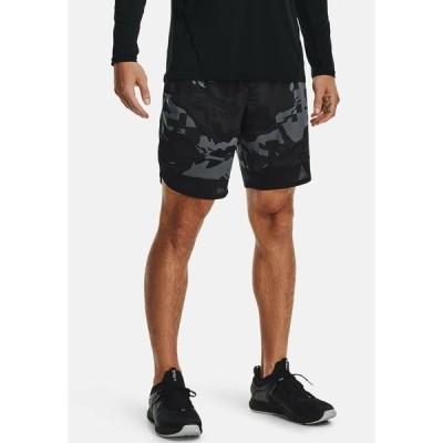 アンダーアーマー カジュアルパンツ メンズ ボトムス STRETCH CAMO - Sports shorts - pitch gray