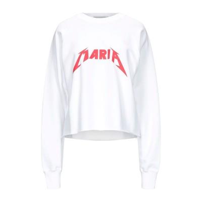 フォルテクチュール FORTE DEI MARMI COUTURE スウェットシャツ ホワイト XS コットン 100% スウェットシャツ