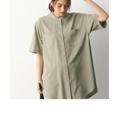 サラサラバンドシャツ半袖