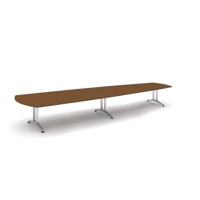 コクヨ品番 WT-W223W05 会議テーブル WT200 ウイング形突板天板 W4800xD1600xH720 WT−200