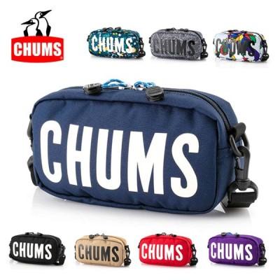 CHUMS チャムス Eco CHUMS Logo Shoulder Pouch エコチャムスロゴショルダーポーチ CH60-3023 【カバン/ショルダーバッグ/アウトドア】【メール便・代引不可】