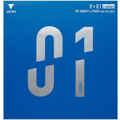 VICTAS(ヴィクタス) 卓球 裏ソフトラバー V01 リンバー 020341 レッド 2サイズ