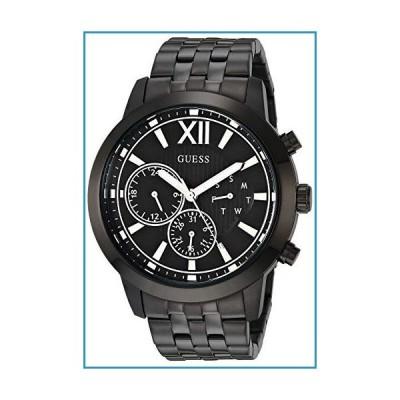 新品GUESS メンズ アナログクォーツ腕時計 ステンレススチールストラップ ブラック 22 (モデル:GW0068G4)【