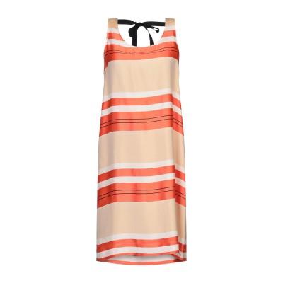 アリジ ALYSI ミニワンピース&ドレス オレンジ 42 レーヨン 100% ミニワンピース&ドレス