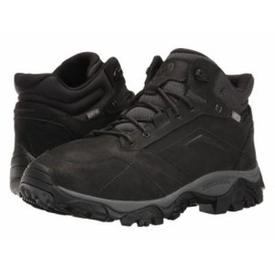 Merrell メレル メンズ 男性用 シューズ 靴 ブーツ ハイキング トレッキング Moab Adventure Mid Waterproof Black【送料無料】