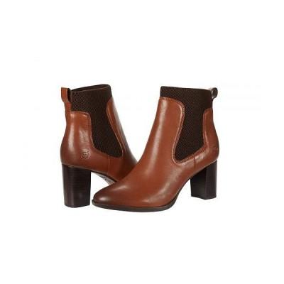 Born ボーン レディース 女性用 シューズ 靴 ブーツ アンクル ショートブーツ Donella - Brown Full Grain