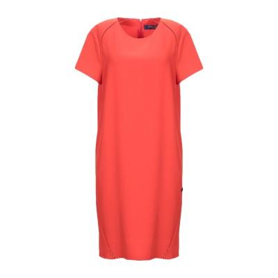 トラサルディ ジーンズ TRUSSARDI JEANS ミニワンピース&ドレス オレンジ 44 ポリエステル 97% / ポリウレタン 3% ミニワ