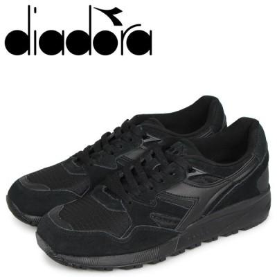 Diadora ディアドラ ニュートラ 9002 スニーカー メンズ N9002 ブラック 黒 173073-7124