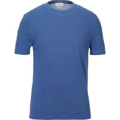 バランタイン BALLANTYNE メンズ ニット・セーター トップス Sweater Slate blue