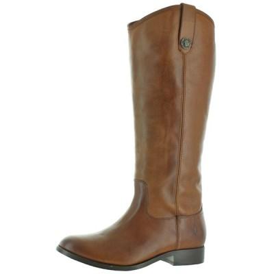 ブーツ フライ Frye Melissa Button Women's Pull-On Leather Riding Boots Wide Calf Avail