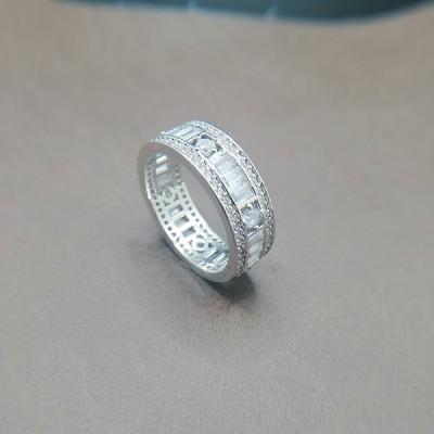 開店セール15003リング、15号リング、ジルコンニアリング、エタニティリング、宝石を環状に切れ目なくはめ込んだ指輪。永遠を象徴する。