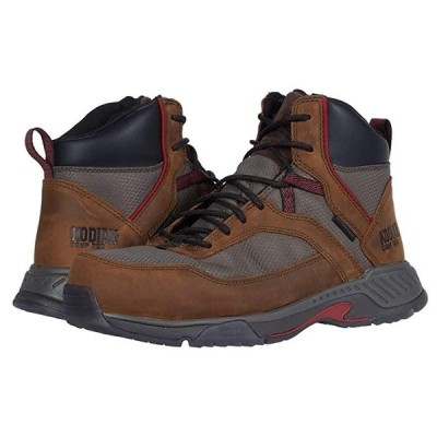 Kodiak MKT 1 Composite Toe Hiker メンズ ブーツ Brown/Red