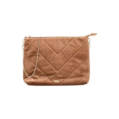 NALI ハンドバッグ キャメル ポリエステル 94% / ポリウレタン 6% ハンドバッグ
