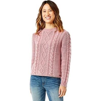 カーブデザイン ニット&セーター レディース アウター Walsh Sweater - Women's Frosted Red Rock