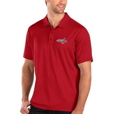 アンティグア メンズ ポロシャツ トップス Washington Capitals Antigua Balance Polo