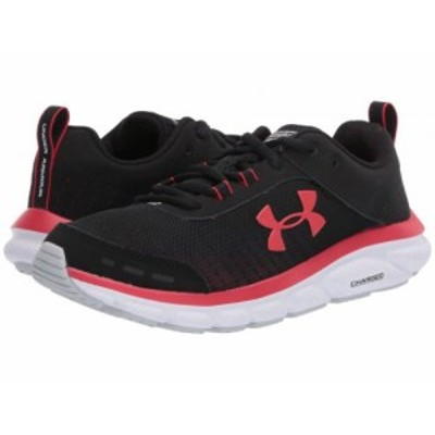 Under Armour アンダーアーマー メンズ 男性用 シューズ 靴 スニーカー 運動靴 UA Charged Assert 8 Black/White/Versa Red【送料無料】