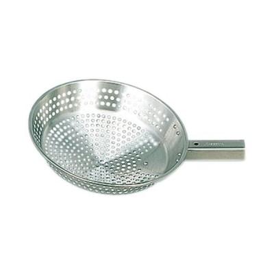 厨房用品 料理道具 / 抗菌角柄用18-8網ひしゃく 25cm  寸法: 外径:250mm 重量:0.33kg