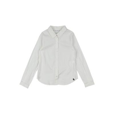 L:Ú L:Ú by MISS GRANT シャツ アイボリー 4 コットン 76% / ナイロン 20% / ポリウレタン 4% シャツ