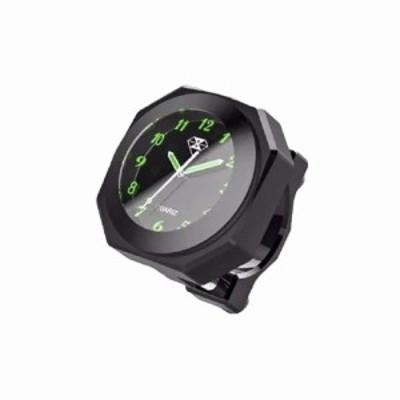 IPX7級 防水 バイク用 アナログ 時計 クロック オートバイ 自転車 対応 ハンドルバー ドレスアップ tecc-bic03