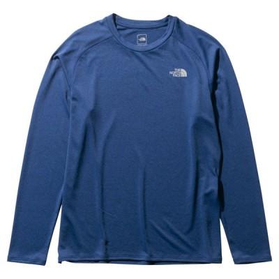 ノースフェイス Tシャツ レディース ロングスリーブGTDメランジクルー NT12096 UN(アーバンネイビー) THE NORTH FACE L/S GTD Melange Crew