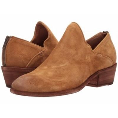 Frye フライ レディース 女性用 シューズ 靴 ブーツ アンクルブーツ ショート Carson Shootie Brandy Oiled Suede【送料無料】