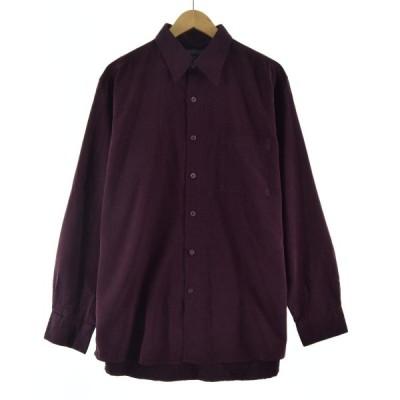 ストライプ ドレスシャツ メンズL /eaa072551