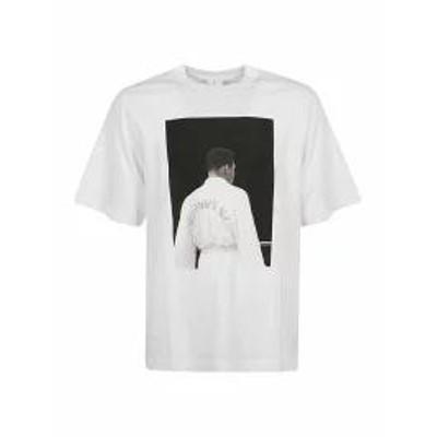Marcelo Burlon メンズトップス Marcelo Burlon Muhammad Ali Back Print T-shirt White Multicolor