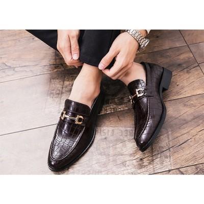 ビジネスシューズ メンズ 疲れない 防滑ソール ストレートチップ 歩きやすい革靴 ロングレッグシューズ 紳士靴 結婚式