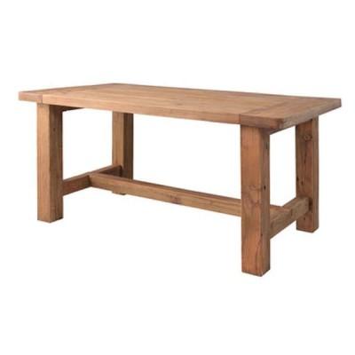 北海道・沖縄・離島配送不可 代引不可 ダイニングテーブル 木製 天然木 パイン古材 食卓 組立式 東谷 WE-887