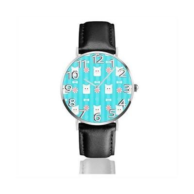 腕時計 テクスチャ豚頭 ウオッチ クラシック カジュアル 防水 クォーツムーブメント レザー ベルトビジネス オ