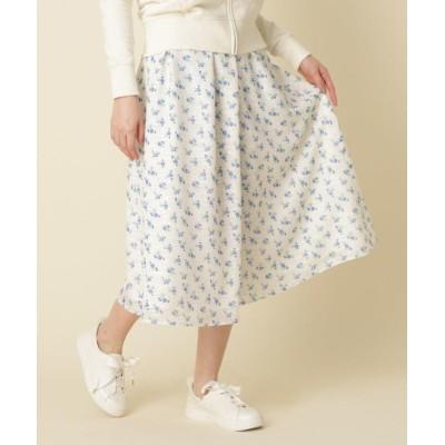 【クチュールブローチ】 小花ドットカットジャガード レディース オフホワイト 38(M) Couture Brooch