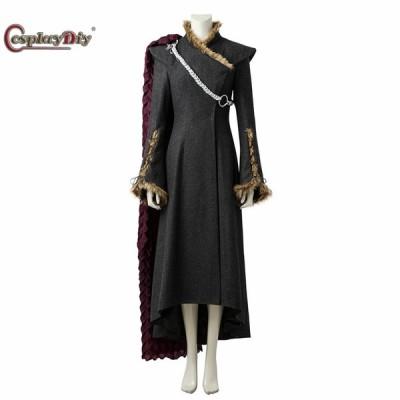 高品質 高級コスプレ衣装 ゲーム・オブ・スローンズ風 デナーリス・ターガリエンドラゴンの母 コスチュームDaenerys Targaryen dress cosplay costume