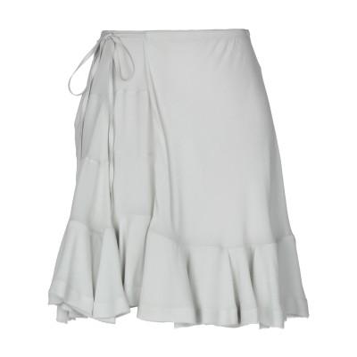 クロエ CHLOÉ ひざ丈スカート ライトグレー 40 レーヨン 100% ひざ丈スカート