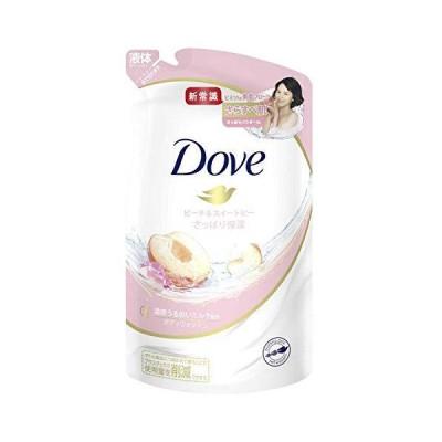 Dove(ダヴ)ボディウォッシュボディソープピーチ&スイートピー詰替え用