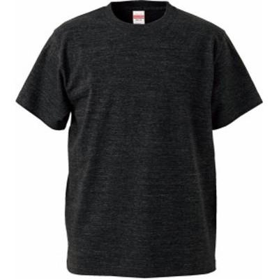 ユナイテッドアスレ カジュアル 5.6オンス ハイクオリティーTシャツ(キッズ) 16 ヘザーブラック Tシャツ(500102c-725)