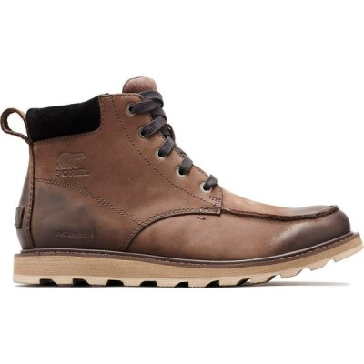 ソレル Sorel メンズ ブーツ モックトゥ シューズ・靴 madson moc toe waterproof boots Bruno/Black