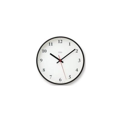 Lemnos (レムノス) Plywood clock 電波時計 ブラウン (LC10-21W BW)
