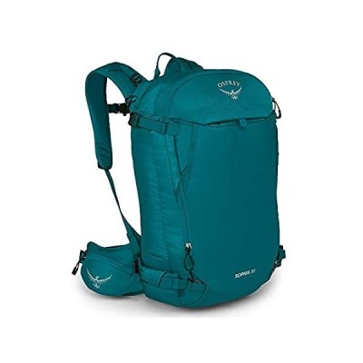 Osprey Sopris 30 Women's Ski Backpack, Verdigris Green, One Size
