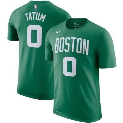 NBA ジェイソン・テイタム ボストン・セルティックス Tシャツ ネーム & ナンバー ナイキ/Nike ケリーグリーン