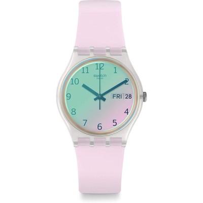 [スウォッチ] 腕時計 Gent (ジェント) ULTRAROSE (ウルトラローズ) ウィ GE714 レディース 正規輸入品 ホワイト 並行輸入品