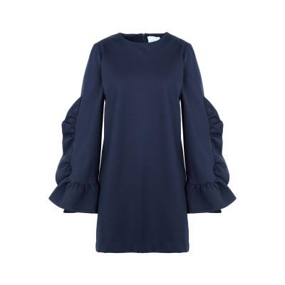 CO|TE ミニワンピース&ドレス ダークブルー 40 レーヨン 65% / ナイロン 30% / ポリウレタン 5% ミニワンピース&ドレス