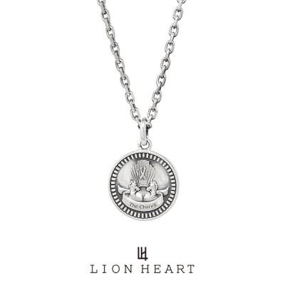 ライオンハート クラシックネックレス/THE CHARIOT/シルバー925 1NE209A0CH LION HEART Intent コイン タロットカード チャリオット/戦車 プレゼント メンズ