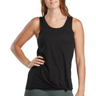 ビーシージー カットソー トップス レディース BCG Women's Knotted Muscle Tank Top Black