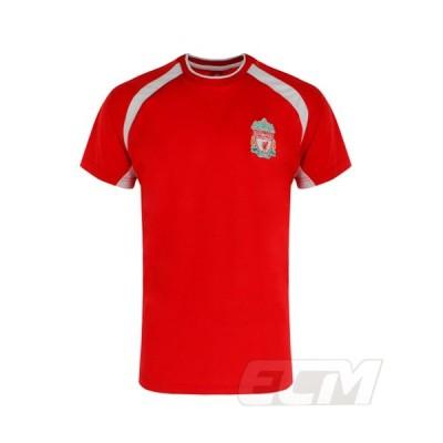 【国内未発売】SR0050リバプール 公式ライセンス パネルTシャツ レッド【Liverpool/サッカー/プレミアリーグ】PRM15 ネコポス対応可能