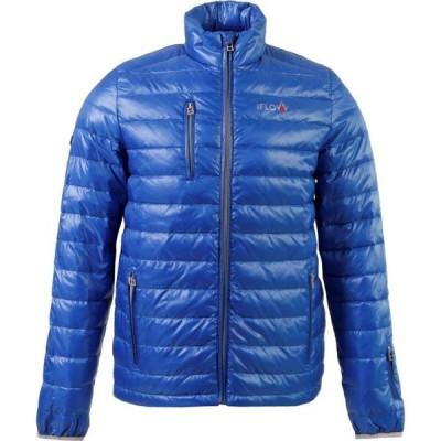 IFlow メンズ ジャケット アウター Superlight Jacket Blue/Silver
